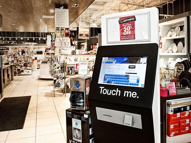 Linen Chest Registry Kiosk