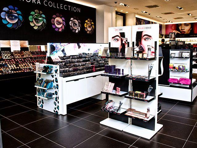 Sephora Merchandising Displays